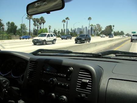 Am inceput sa descopar Los Angeles dupa abia 2 saptamani - cand am inchiriat masina