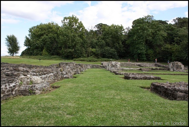 A lost passageway at Lesnes Abbey