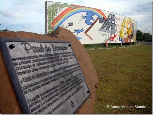 Itaipu Veiculo Eletrico BlogTurFoz Painel do Barrageiro