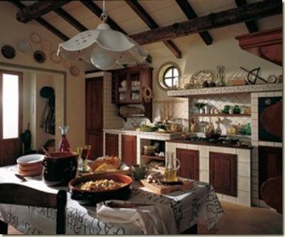 Fotos de cocinas rusticas de obra decoraci n de - Cocinas rusticas de obra pequenas ...