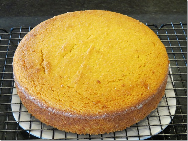 Orange Olive Oil Cornmeal Cake