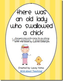 Old Lady Who Swallowed a Chick
