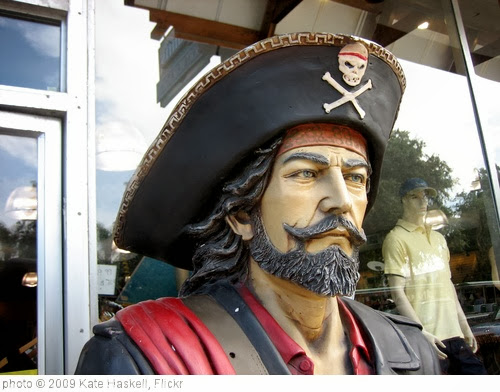 'Pirate' photo (c) 2009, Kate Haskell - license: http://creativecommons.org/licenses/by/2.0/