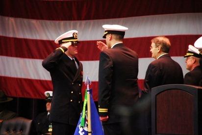 Mark Navy OCS Grad 12