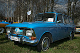 """Klubo """"Klasika"""" narių technika - Moskvich 427 1974 m."""
