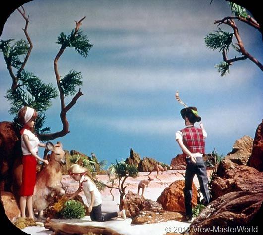 View-Master Barbies Around the World Trip (B500), Scene 17