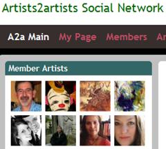artists2artists social network