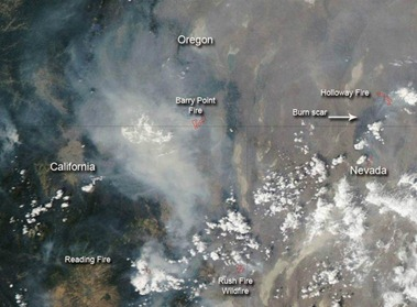 Barry and Holloway fires