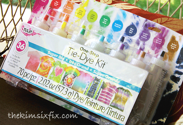 Tulip one step tie dye kit