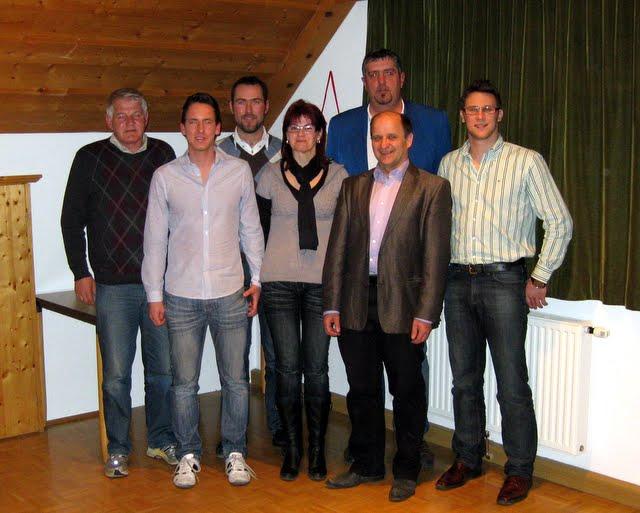 USV St. Andrä Vorstand seit JHV 2011