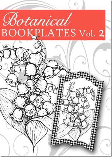 Botanical Bookplates 2 Graphic