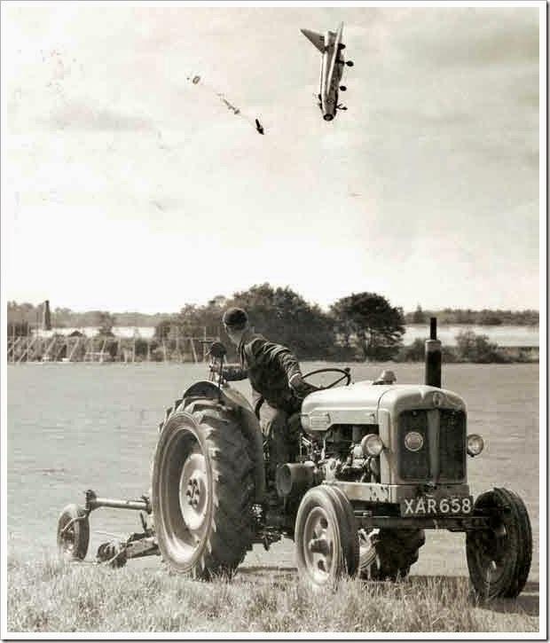 Avião que cai