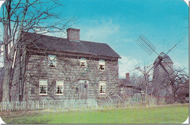 John Howard Payne Home - Historical Long Island Postcard pg. 1