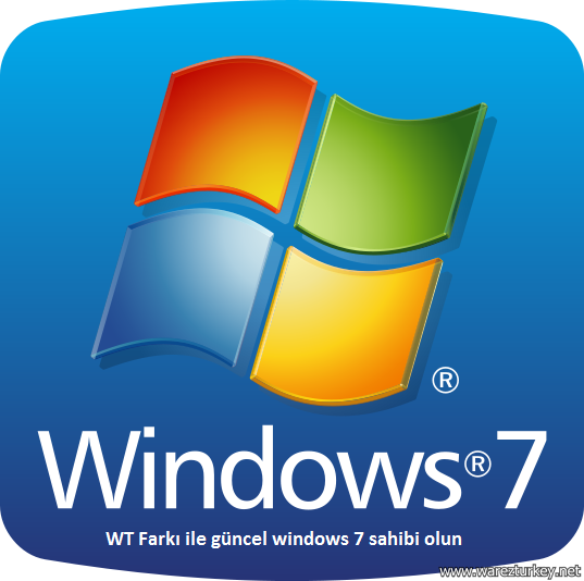 Windows 7 Professional Sp1 (32/64 Bit) T�rk�e MSDN Tek Link indir