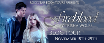 {ARC Review+Giveaway} Fireblood by Trisha Wolfe