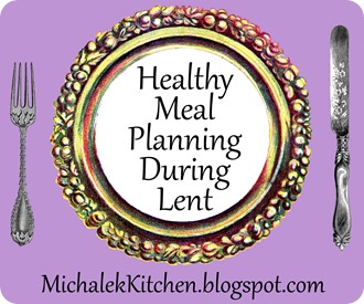 Meal Plans for Lent 2015
