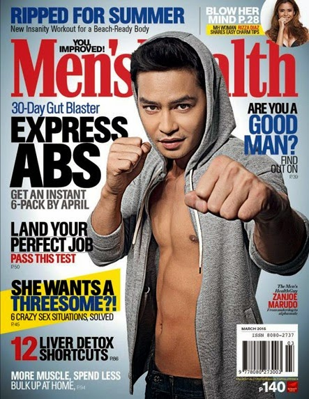 Zanjoe Marudo - Men's Health PH March 2015