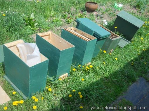 Готовлю 6 ловушек для пчел