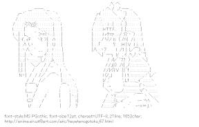 [AA]Kasumi Aika & Harukaze Chiharu (Hayatenogotoku)