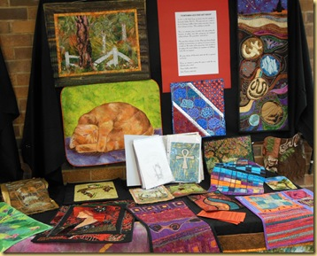 Art Quilt display