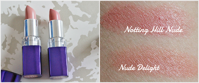 rimmel moisture renew lipstick nude delight notting hill nude swatch review