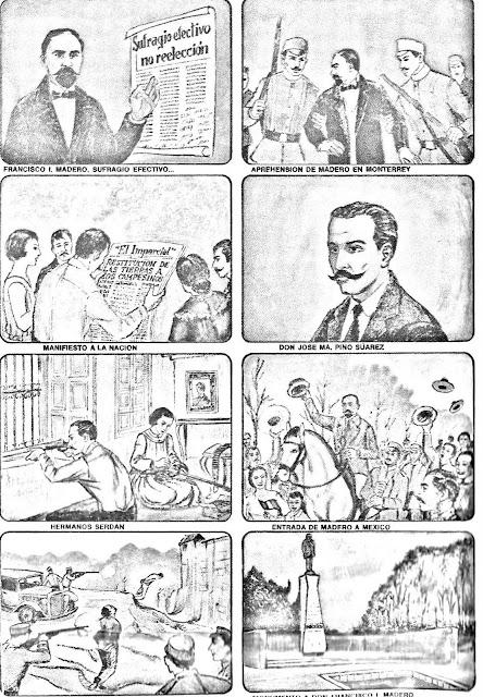 Revolucion Mexicana a Color Revolucion Mexicana Lamina.jpg