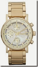DKNY Gold Plated Stainless Steel Watch