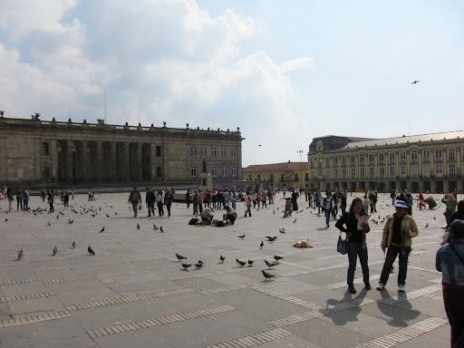 Plaza Bolivar, Bogota's Main Square