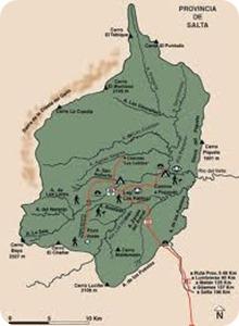parque nacional el rey map