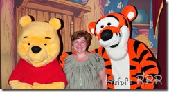 Heidi with Pooh and Tigger