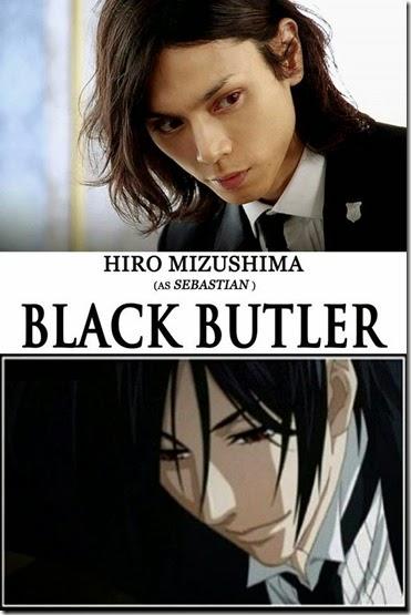 hiro mizushima as black butler sebastian