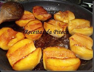 Tarte Tatin maçãs caramelizadas