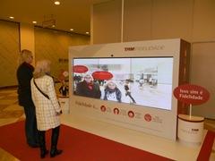 Videowall com realidade aumentada