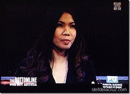 Stef dela Cruz on television