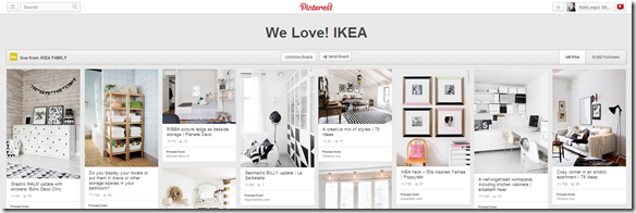 Board We Love Ikea su Pinterest