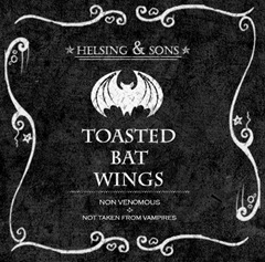 Toasted Bat Wings
