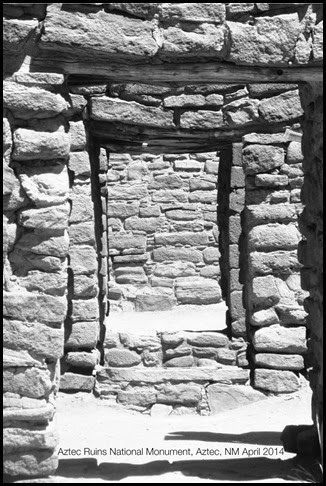 Aztec Ruins Doorways