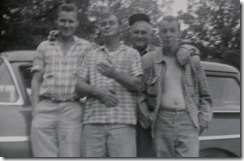 Bob,Rube,Dad &Billy July,1958 001 (1)