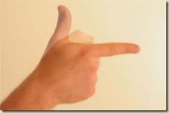 finger gun infowars