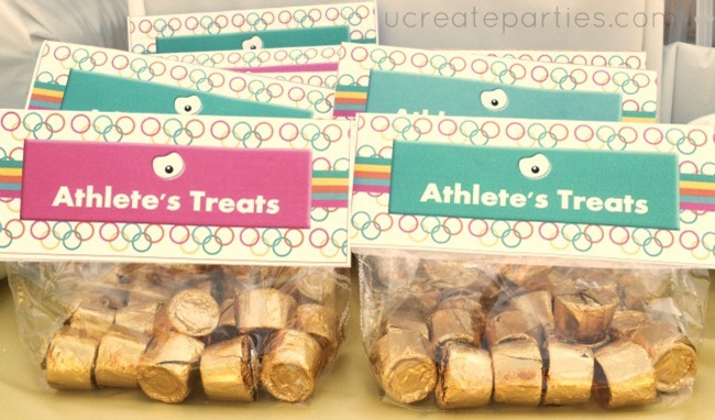 olympic treat toppers