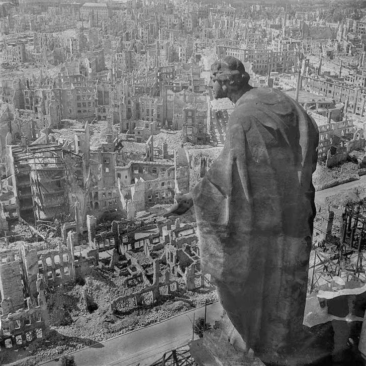 Dresden em ruínas