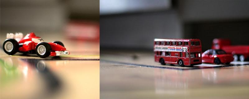 Røde biler