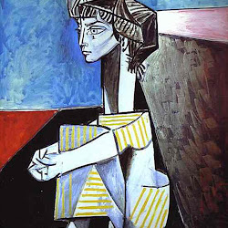 Picasso, Jacqueline Rocque with crossed arms