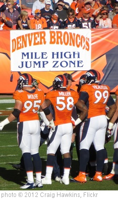 'Broncos Players' photo (c) 2012, Craig Hawkins - license: http://creativecommons.org/licenses/by-nd/2.0/