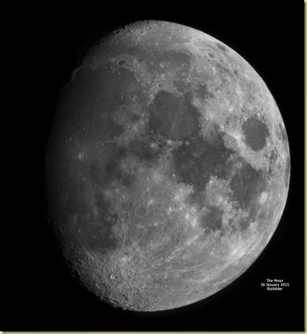 30 January 2015 Moon Mosaic