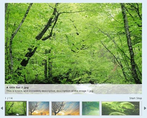 Galería de imágenes plugin de jQuery