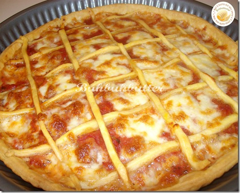 Crostata di pizza