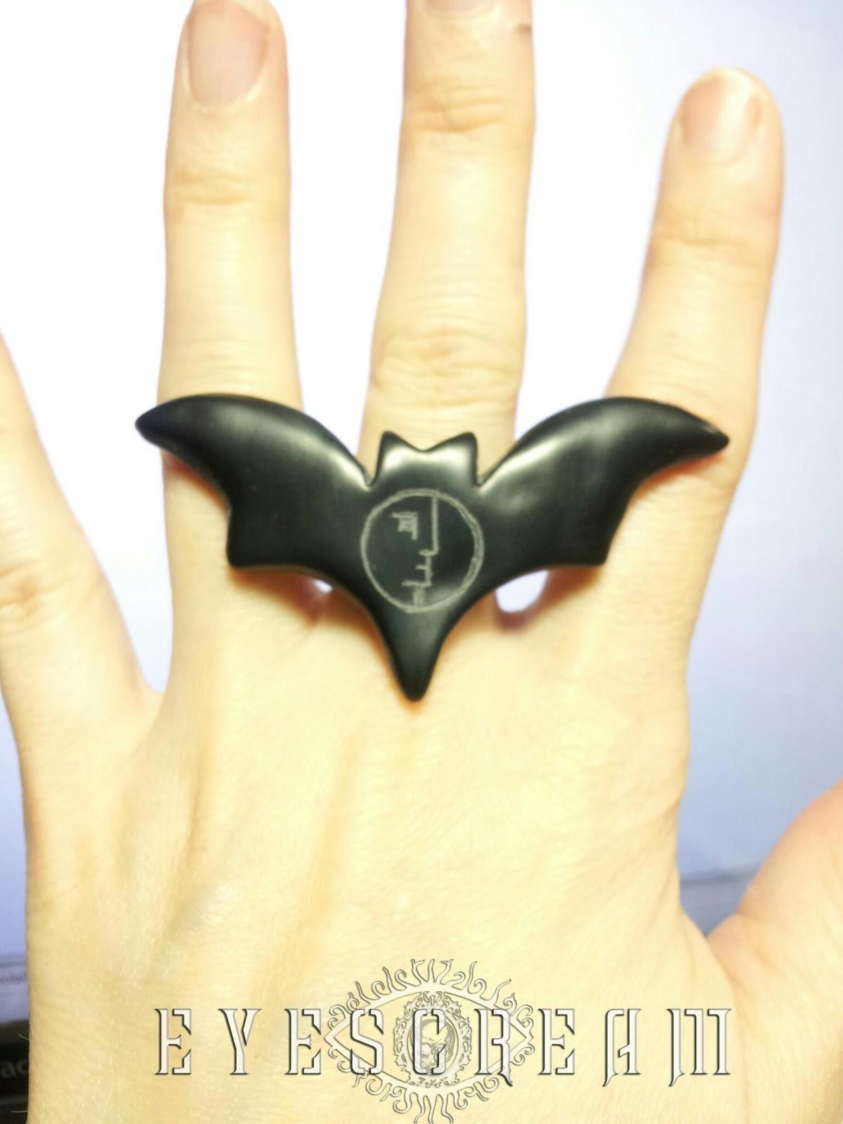 Bat Resin Ring