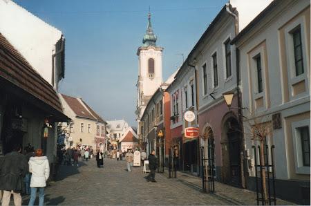Strada mare din Szentendre