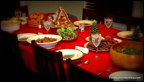 2012 Christmas Menu